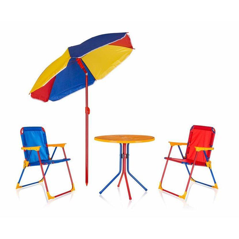adcf05b67f077 Detský záhradný set TIMMY, 2 stoličky, stolík a slnečník